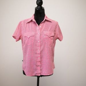 Tru West Rockmount Ranch Wear Women's Gingham Top